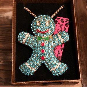 Gingerbread Brooch/Necklace